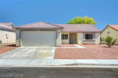North Las Vegas Single Family Home For Sale: 3004 Silver Canyon Lane