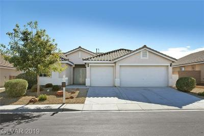North Las Vegas Single Family Home For Sale: 7021 Longhorn Cattle Street