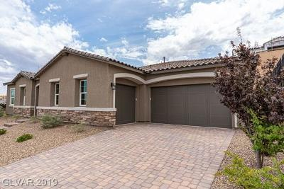 Las Vegas Single Family Home For Sale: 6243 Carol Butte Court