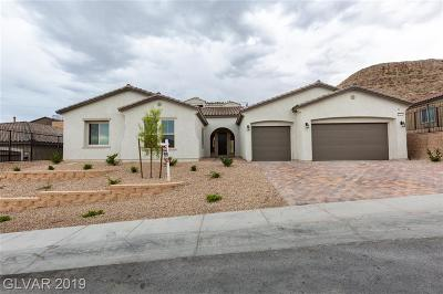 Las Vegas Single Family Home For Sale: 6251 Carol Butte Court