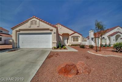North Las Vegas Single Family Home For Sale: 708 Newbridge Way