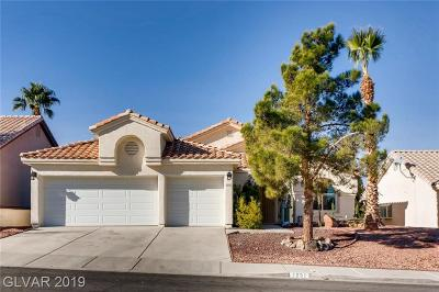 Henderson Single Family Home For Sale: 1031 Golda Way
