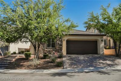 Las Vegas Single Family Home For Sale: 10533 Fulbright Avenue
