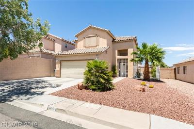 Las Vegas Single Family Home For Sale: 9654 Vanderhoof Court