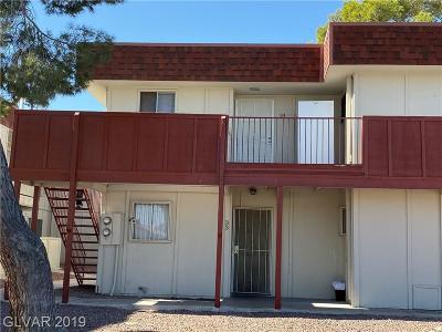 Las Vegas Condo/Townhouse For Sale: 5406 Swenson St Street #34