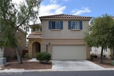 Las Vegas Single Family Home For Sale: 9485 Magnificent Avenue