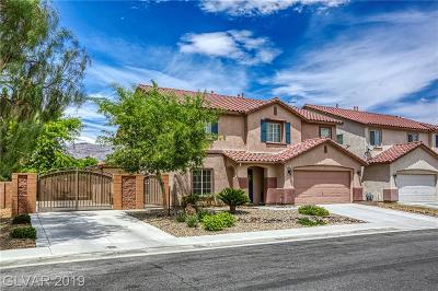 Las Vegas Single Family Home For Sale: 5600 Green Ferry Avenue