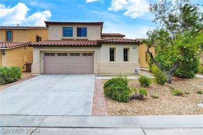 North Las Vegas Single Family Home For Sale: 4341 Desert Park Avenue