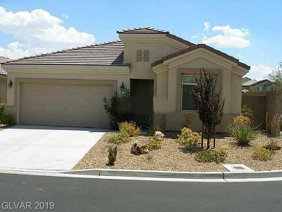 Las Vegas Single Family Home Under Contract - No Show: 7411 Bedford Pine Court