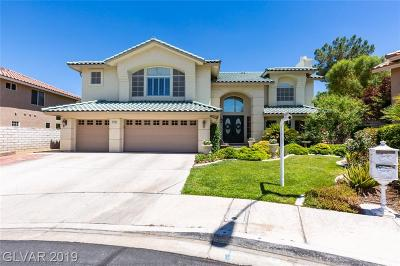 Henderson Single Family Home For Sale: 142 Pin High Circle