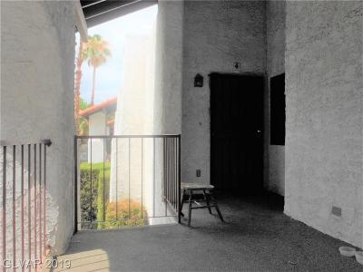 Las Vegas Condo/Townhouse For Sale: 5075 Eldora Avenue #4