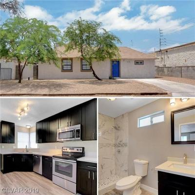 Las Vegas Single Family Home For Sale: 1108 15th Street