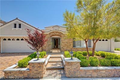 Las Vegas Single Family Home For Sale: 308 Onyx Crest Street