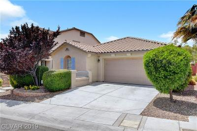 Las Vegas Single Family Home For Sale: 549 Caribbean Palm Drive