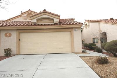 Las Vegas, Henderson Condo/Townhouse For Sale: 855 Stephanie Street #514