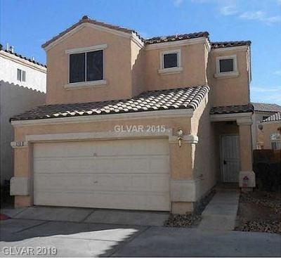 North Las Vegas Single Family Home Under Contract - No Show: 2703 Guidance Court