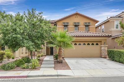 Las Vegas Single Family Home For Sale: 10165 Chestnut Wood Avenue