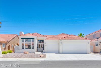 Las Vegas NV Single Family Home For Sale: $364,500
