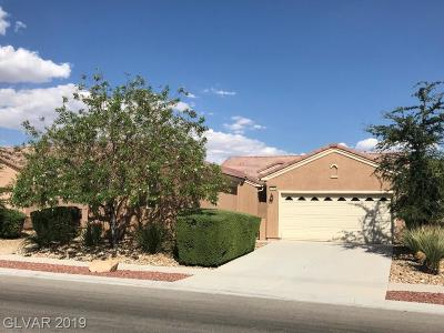 North Las Vegas Single Family Home Under Contract - No Show: 7664 Broadwing Drive