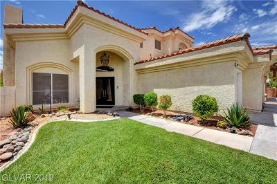 Centennial Hills Single Family Home For Sale: 5409 Aegean Way