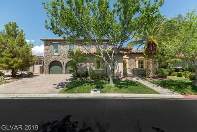 Las Vegas Single Family Home For Sale: 11737 Oakland Hills Drive