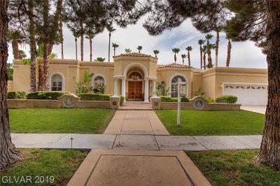 Clark County Single Family Home For Sale: 3930 Placita Del Rico