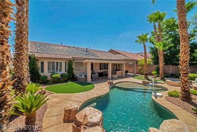 Las Vegas Single Family Home Under Contract - No Show: 9916 Masterful Drive