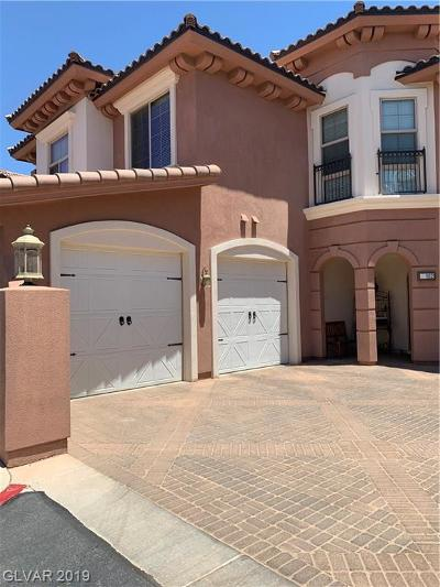 Henderson NV Condo/Townhouse For Sale: $285,000