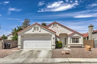 North Las Vegas NV Single Family Home Under Contract - No Show: $259,900
