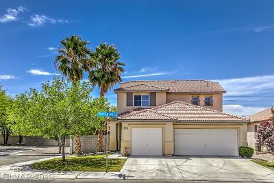 North Las Vegas Single Family Home Under Contract - Show: 5703 Bear Springs Street