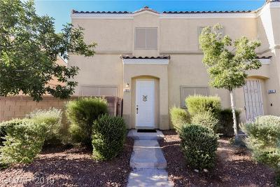 NORTH LAS VEGAS Condo/Townhouse For Sale: 6313 Sandy Ridge Street #101
