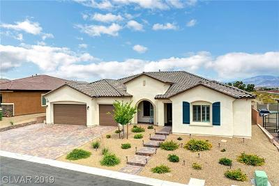 Centennial Hills Single Family Home For Sale: 9710 Yellow Shadow Avenue