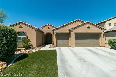 North Las Vegas Single Family Home Under Contract - No Show: 7313 Redhead Drive