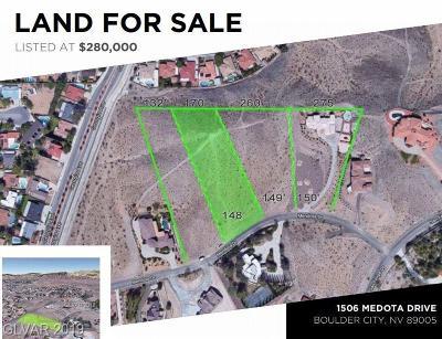 Boulder City Residential Lots & Land For Sale: 1506 Mendota Drive