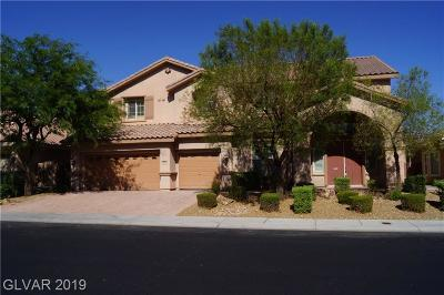 Las Vegas Single Family Home For Sale: 9636 Trattoria Street