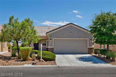 North Las Vegas Single Family Home Under Contract - No Show: 7832 Pine Warbler Way