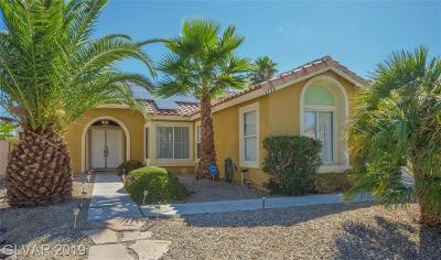 North Las Vegas Single Family Home For Sale: 6126 Evening View Street