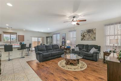 North Las Vegas Single Family Home Under Contract - No Show: 3729 Blissful Bluff Street
