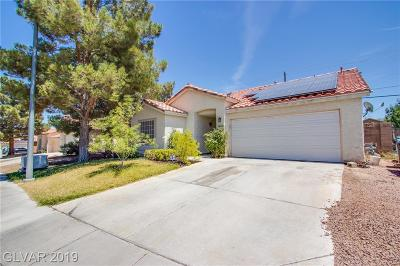 North Las Vegas Single Family Home Under Contract - No Show: 3620 Iverson Lane