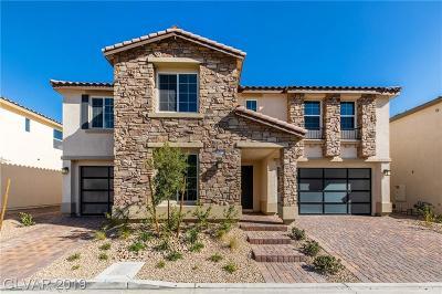 Las Vegas NV Single Family Home For Sale: $852,581