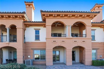 Viera Condo Amd, V At Lake Las Vegas, Mantova-Phase 1, Mantova-Phase 2, South Shore Villas Amd, Luna Di Lusso Condo 2nd Amd, Luna Di Lusso Condo 3rd Amd, Parcel 6n-4-A Vita Bella Condo/Townhouse Under Contract - No Show: 16 Via Visione #103