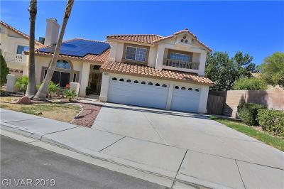 Henderson Single Family Home For Sale: 2833 Via Romantico Street