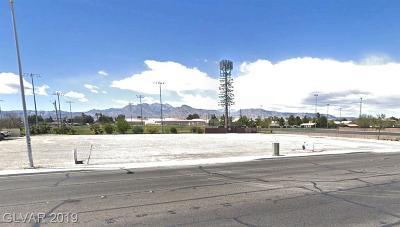 Las Vegas NV Residential Lots & Land For Sale: $795,000
