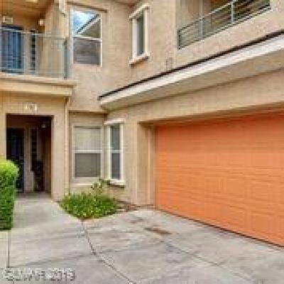Las Vegas NV Condo/Townhouse Under Contract - No Show: $329,900