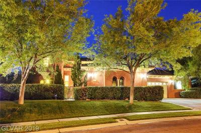 Las Vegas Single Family Home For Sale: 10825 Beringer Drive