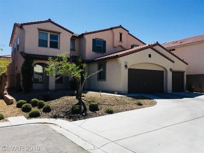 Las Vegas Single Family Home For Sale: 7235 Campolina Court