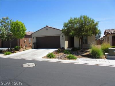 North Las Vegas Single Family Home For Sale: 5812 Radiance Park Street