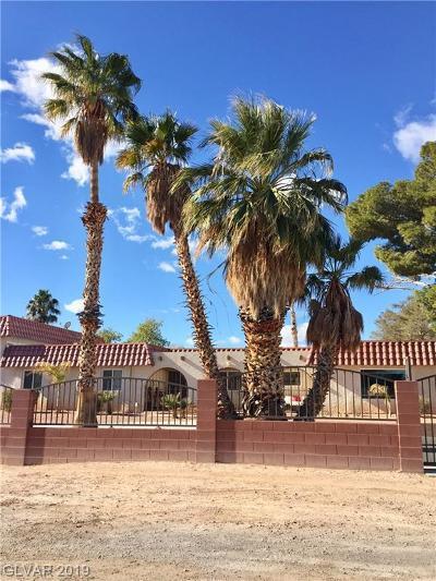 Clark County Single Family Home For Sale: 8715 Rancho Destino Road
