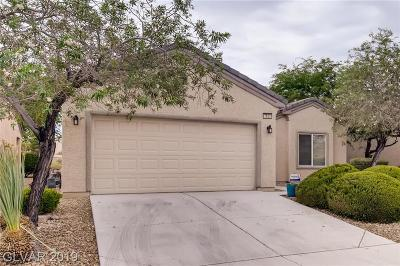 North Las Vegas Single Family Home For Sale: 7653 Broadwing Drive