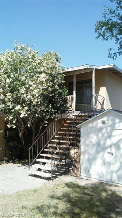 Las Vegas Multi Family Home For Sale: 380 13th Street
